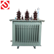 Factory sells S13-500KVA three-phase oil immersed all copper core oil transformer