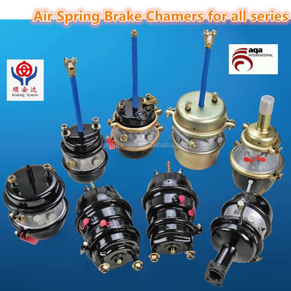 Volvodafmannivecomercedes Truck Brake Chamber T3030t2424dp Along With Fishing Reel Parts Diagram Double Pole Relay Air Spring Chambers All Series
