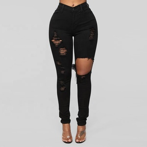 Fashion Skinny Pantalones Women Jeans Slim Fit Denim Pants