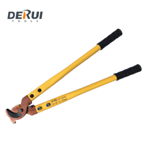 LK-250 derui tools Copper hydraulic hand RATCHET Cable cutter size 600mm