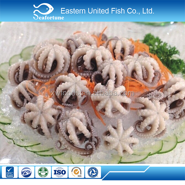 wild frozen small octopus for sale