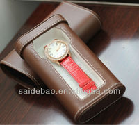 New design elegant leather watch box/case