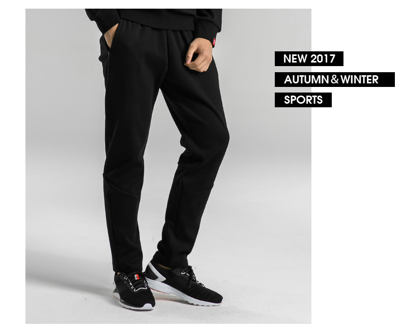 Wholesale Fashion Sportswear Sports Mens Track Pants Sweat Pants With Zipper Pockets and Drawstring Waistband