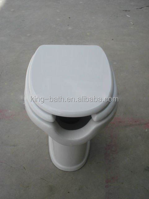 Commercial Flush toilet in Residential, before plumbing upgrades