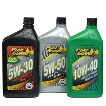 Pure guard motor oil made in usa buy motor oil lubricant for Pure synthetic motor oil