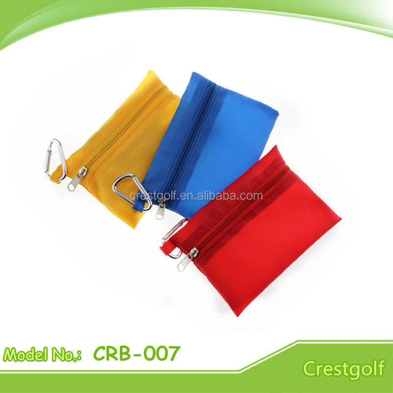 Most-popular Small Golf pouch for golf tees and golf pencil
