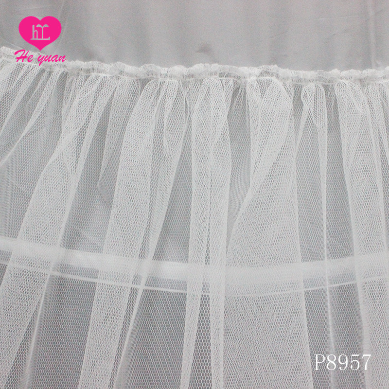 Hot sale Fashion Long Hoop Crinoline Mermaid Bridal Petticoat