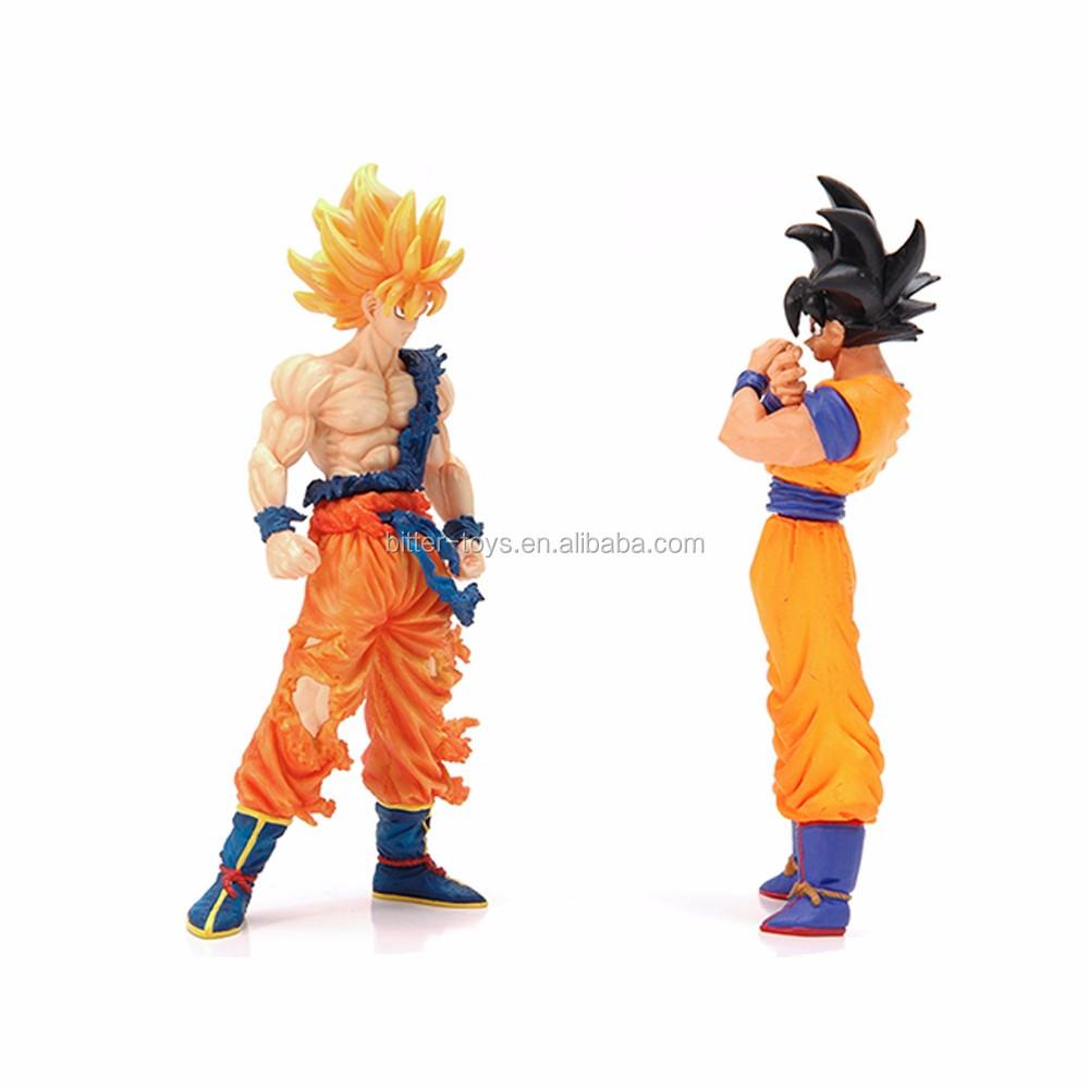 Custom Dragon Ball Z Anime Action Figure Custom Plastic Speelgoed