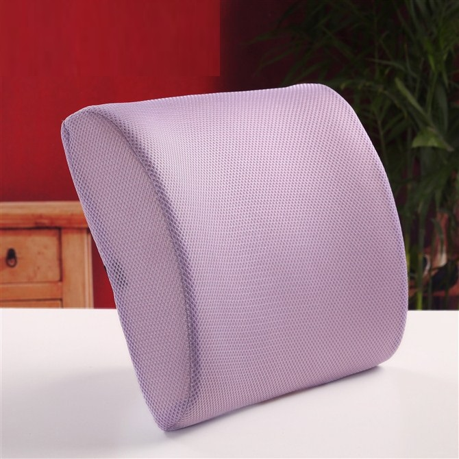 china suppier memory foam back rest car floor chairs with lumbar back support pillow