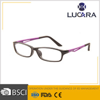 New style eyeglasses optical frame full rimless vintage glasses