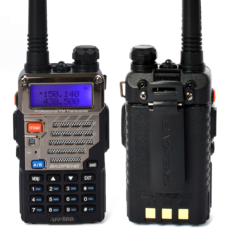128Channels 8 Watt Long Range Baofeng Two Way Radio UV-5RB