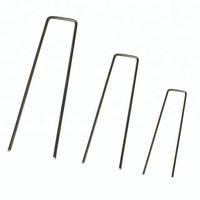 Square Top U Shape 4 inch Landscape Pins
