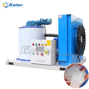 Thick Scale Flake Ice Maker Machine For Fishery Industry