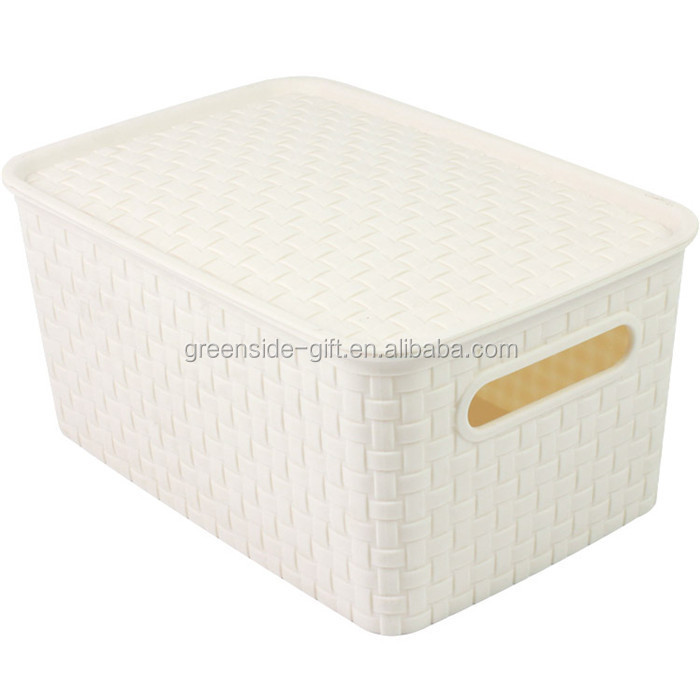 Eco-Friendly promotional plastic small things storage box