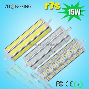 High lumen r7s led light 150w halogen replace smd5630 slim for R7s 150w led