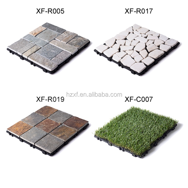 Cheap outdoor interlocking wood plastic composite decking tiles non slip diy wpc tile lowes - Inexpensive deck tiles ...