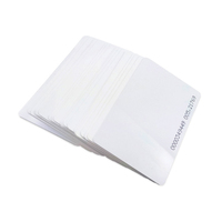 Cheap Price Printable Blank Chip ID Card Maker White PVC Plastic Cards