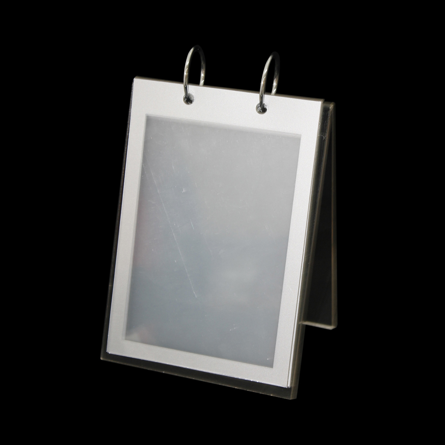 good quality acrylic and metal photo frame display stand acrylic picture holder