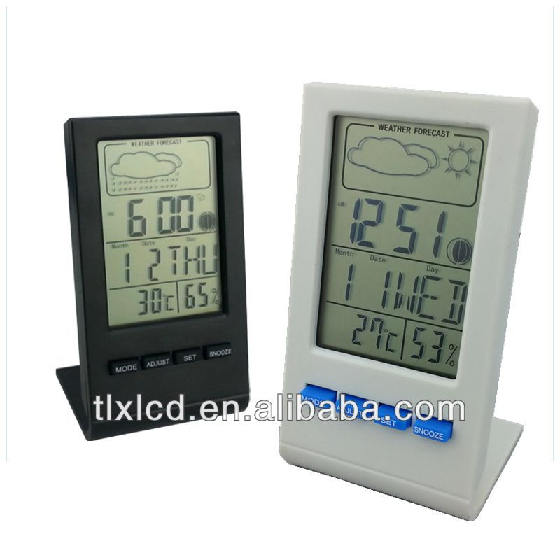 DTH-22 Household Digital LCD Display Thermo-hygrometer & Wireless Weather Station& Electronic Calendar