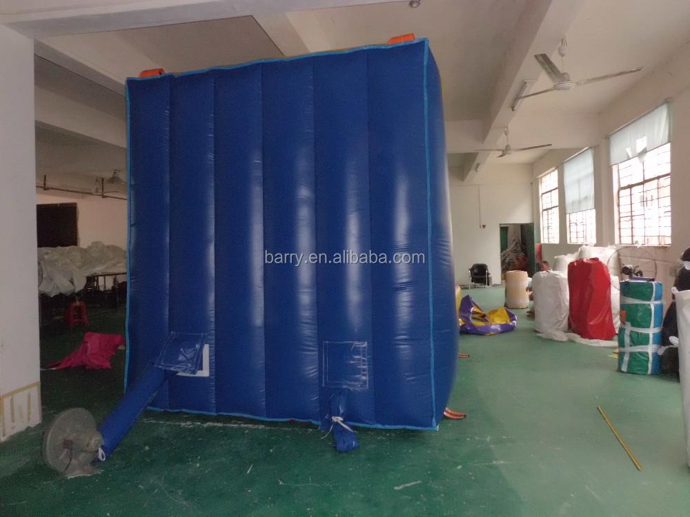 Ao ar livre inflável bouncer castelo parede pegajosa inflável, inflável interativo jogo adulto