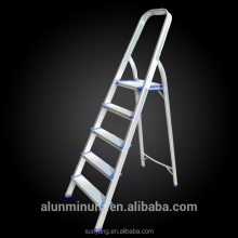 2016 NEW height adjustment movable 4 steps narrow iron step ladder