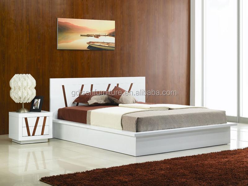 Camera Da Letto Bianco Laccato : Moderno laccato bianco mobili camera da letto mobili in legno