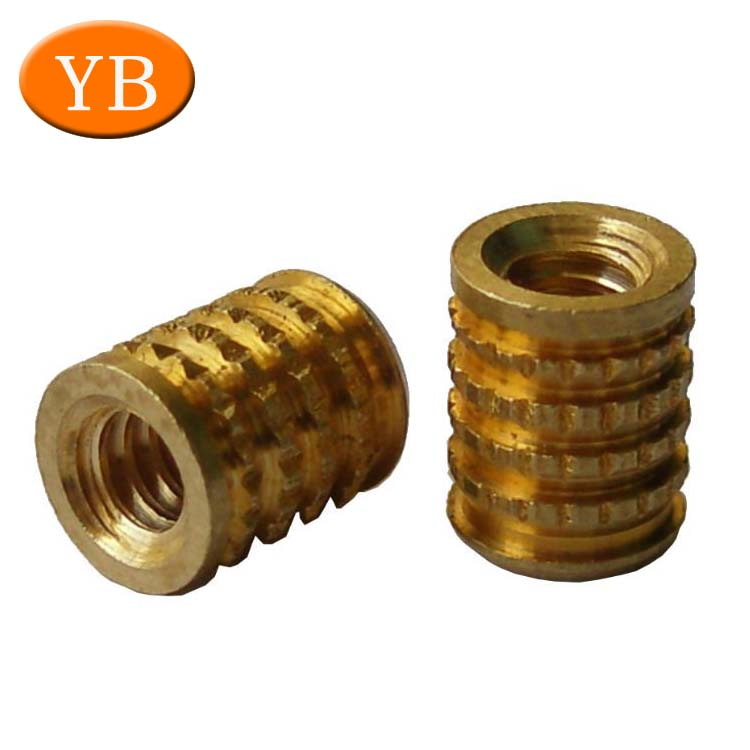 ISO 9001 M3 M4 M5 High Precision Brass Thread Insert