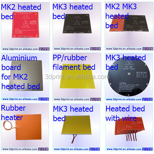 Integrated Circuits Reprap Heatbed Heat Bed Pcb Mk2a Hot Plate For 3d Printer Prusa Mendel Sales Of Quality Assurance