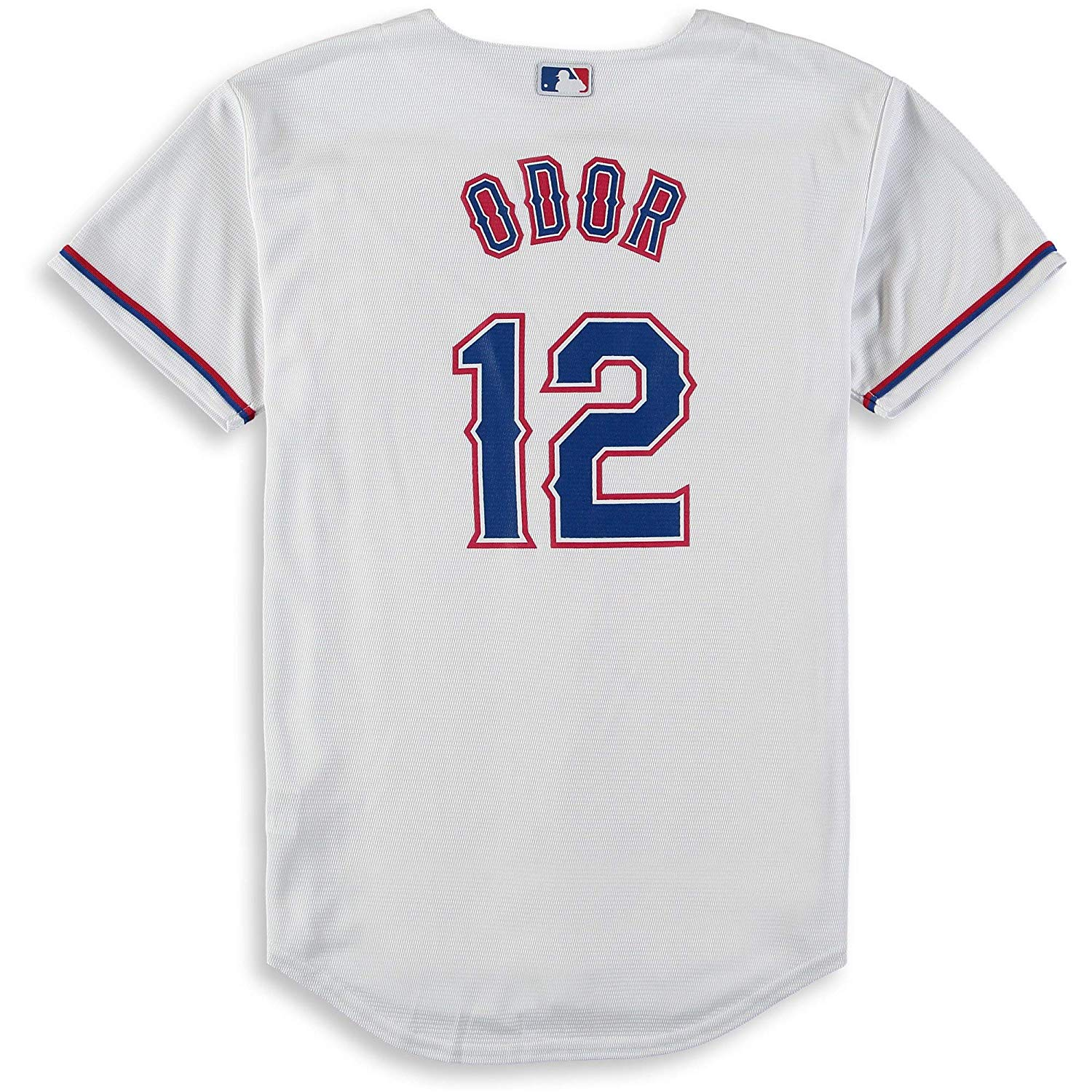 f55a4708c Get Quotations · Outerstuff Rougned Odor Texas Rangers White Youth Cool  Base Home Replica Jersey