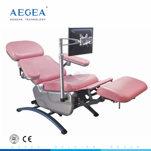 Super cheap! AG-XD104 electric movements medical reclining phlebotomy chairs