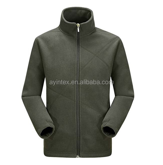 Factory OEM Warm Anti-pilling Men Double Polar fleece Jacket mens coat