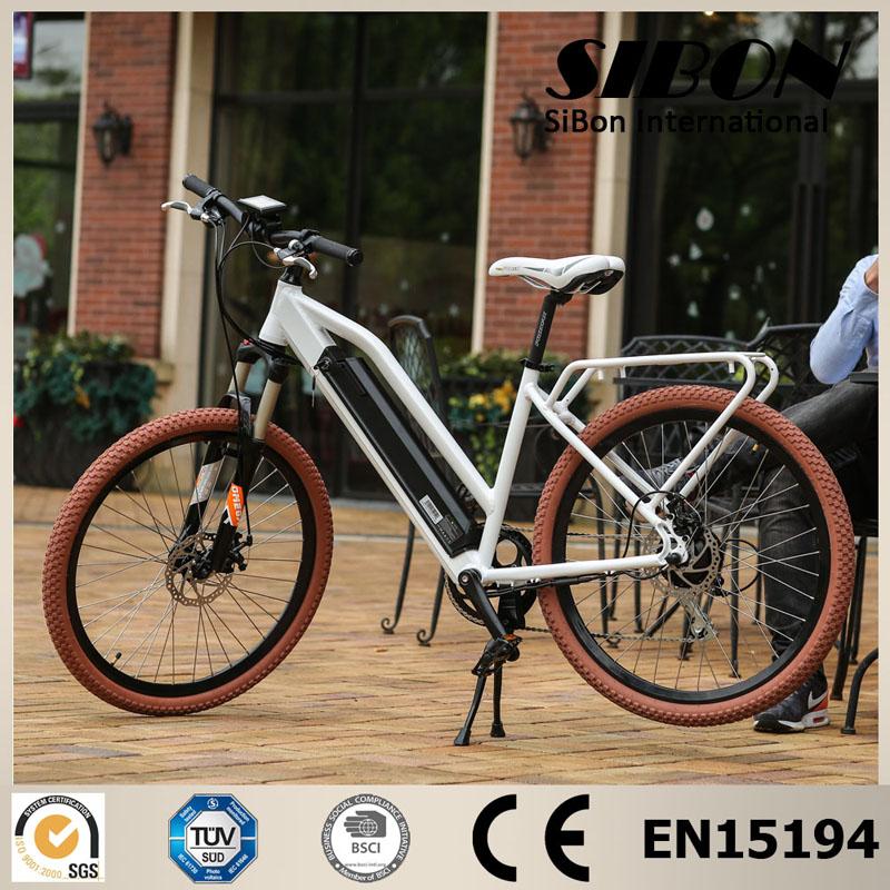 sibon w de super quiet velocidad tenedor suspensin motor sin escobillas bicicleta elctrica pantalla