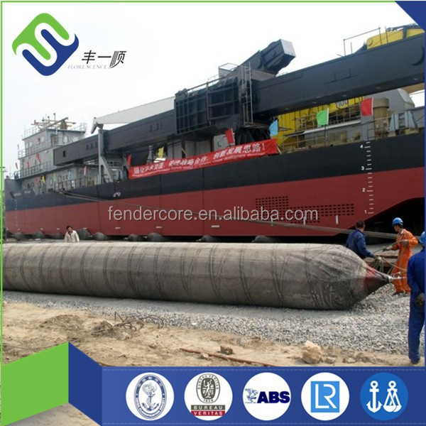 High Quality Air Filled Batam Shipyard Marine Airbag Manufacturer