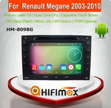 HIFIMAX <span class=keywords><strong>Andriod</strong></span> 7.1 Tela de Toque de Som Do Carro de Rádio 2 Din Car Multimedia Player Para Renault Megane (2003-2010) Multimídia carro