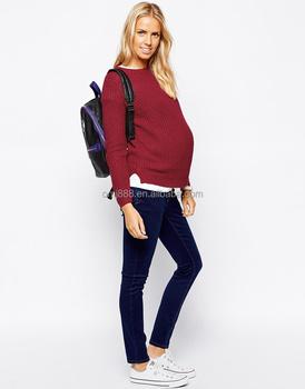 вязаный свитер для беременных New Look Buy женский свитер для