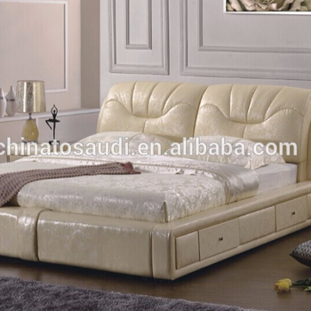 Custom Modern Style Leather Bed Room Furniture Bedroom Set View