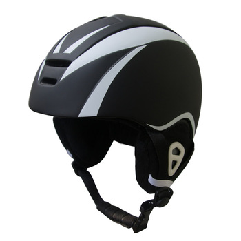Best selling new design winter snow helmet with goggle