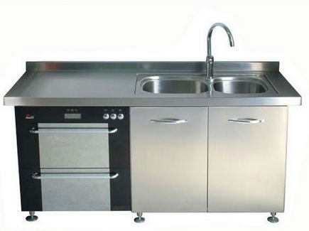 Stainless Steel Hotel Kitchen Cabinet/Stainless Steel Laundry Sink Cabinet