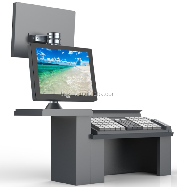 Busin New arrival merchant point of sale systems Split-Type keyboard POS
