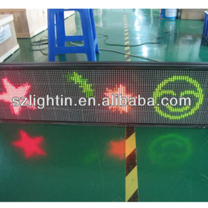supply indoor /outdoor small led display/led message sign board/led electronic moving message sign