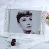 Square Crystal Glass Photo Frame Creative Customized Photo Frame