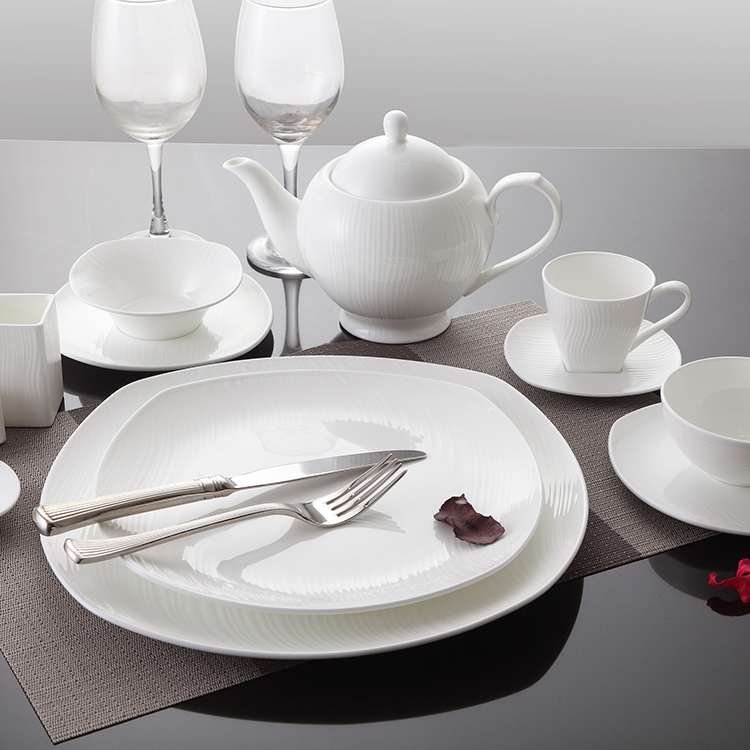 New Design ceramic bone china bowl deep cereal white porcelain serving bowls