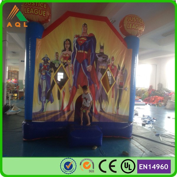 Latest commercial china inflatable toys inflatable batman jump bounce house