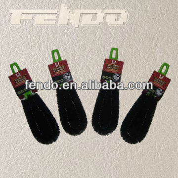 plastic car wash brush water flow brush