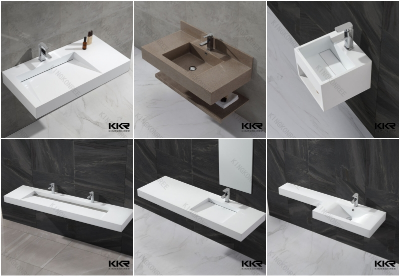 Slot Drain Wall Mount Vanity Bathroom Basin Buy Wall