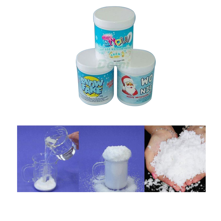 Christmas Magic Instant Artificial Snow Powder