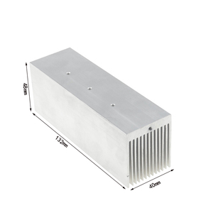 Electronic Heat sink Custom Process Heatsink 100w Aluminum 13 Pin Fin