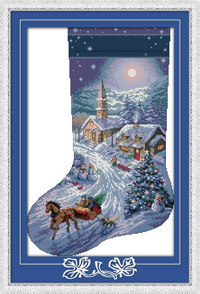Needlepoint Stocking Patterns 44