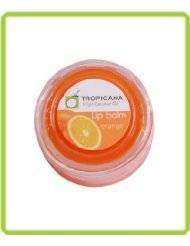 ( Hot Items ) Oil : Virgin Coconut Oil Lip Balm 0.36 Oz. Orange Smell (Pack of 2) Made in Thailand ( by abobon )best sellers