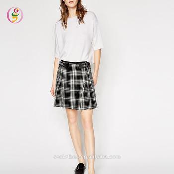 2d82e3de33 Hot Selling Cute School Girl Short Pleated Skirt Casual Mini Skirt ...